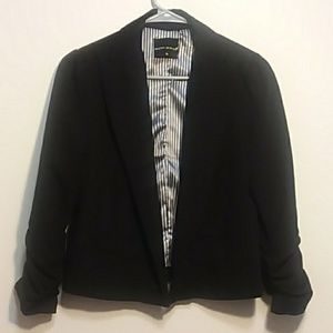 Poetry black blazer